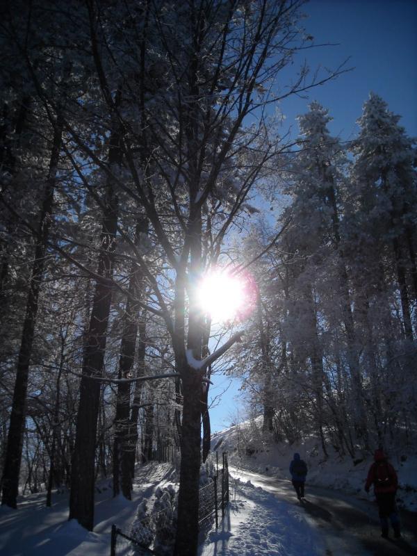 planinarenje zimi