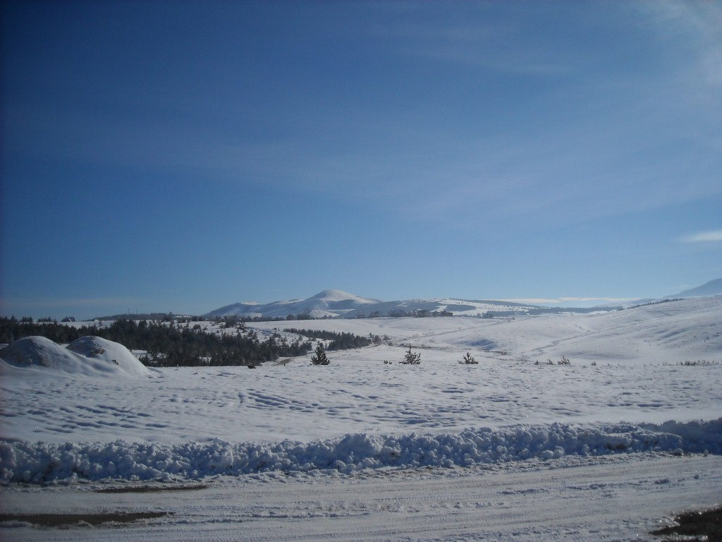 zima zlatibor planinari rujno