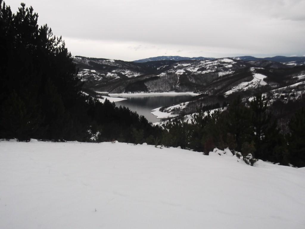 jezero vrutci - planinarenje